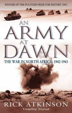 Portada del llibre de Rick Atkinson 'An Army at Dawn'