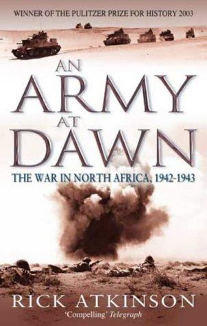 Portada del llibre de Rick Atkinson 'An Army at Dawn'