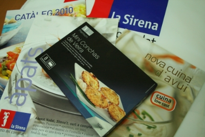 Pack promocional de La Sirena