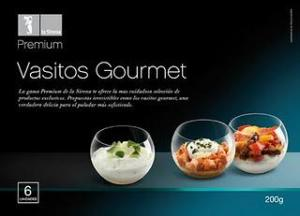 Packaging dels Vasitos Gourmet Premium de La Sirena