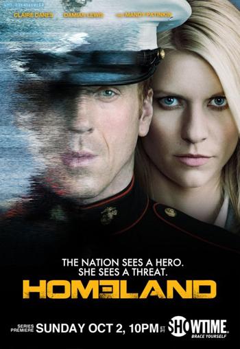 Pòster promocional de la sèrie de televisió Homeland