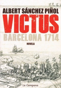 Portada de la novel·la Victus, de l'Albert Sánchez Piñol