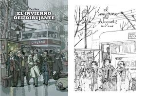 Portada del còmic El invierno del dibujante, de Paco Roca