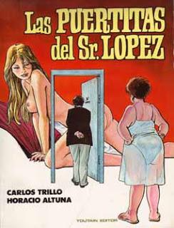 Portada d'un dels àlbums de Las Puertitas del Sr. López
