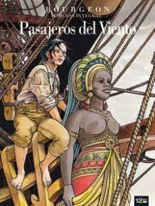 Portada de l'edició integral de Los pasajeros del viento, de François Burgeon