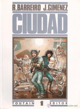 Portada de Ciudad, còmic de Ricardo Barreiro i Juan Giménez