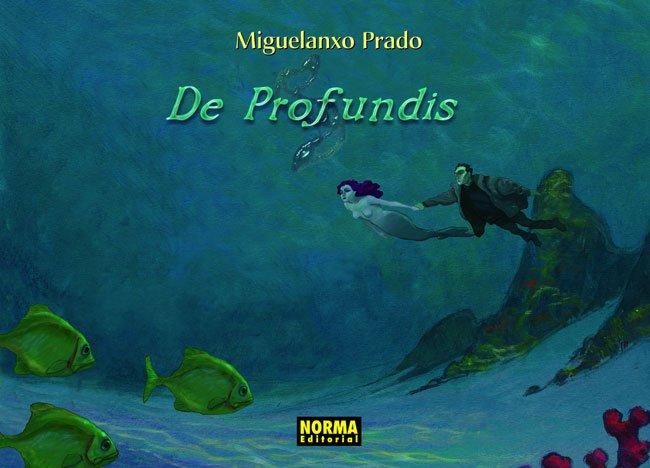 Portada del còmic De Profundis, de Miguelanxo Prado