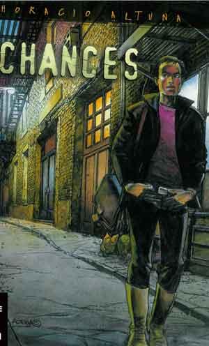 Portada del còmic Chances, d'Horacio Altuna