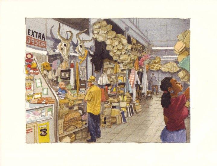 Pàgina del còmic Belo Horizonte, de Miguelanxo Prado.