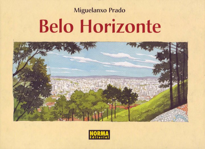 Portada del còmic Belo Horizonte, de Miguelanxo Prado.