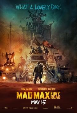 Cartell promocional de la pel·lícula Mad Max: Fury Road (2015)