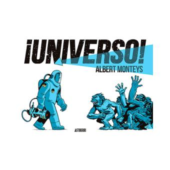 Portada del l'àlbum ¡Universo!, de l'Albert Monteys.