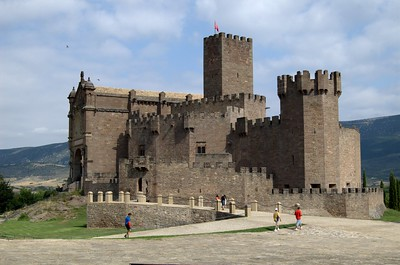 Imatge d'un castell medieval