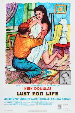 Póster del film Lust for Life (1956) de Vincente Minnelli