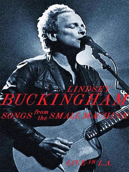 Portada del DVD Songs from the Small Machine, amb un retrat de Lindsey Buckingham